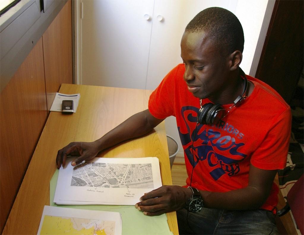 Un jove usuari del centre per a joves Ginkgo.