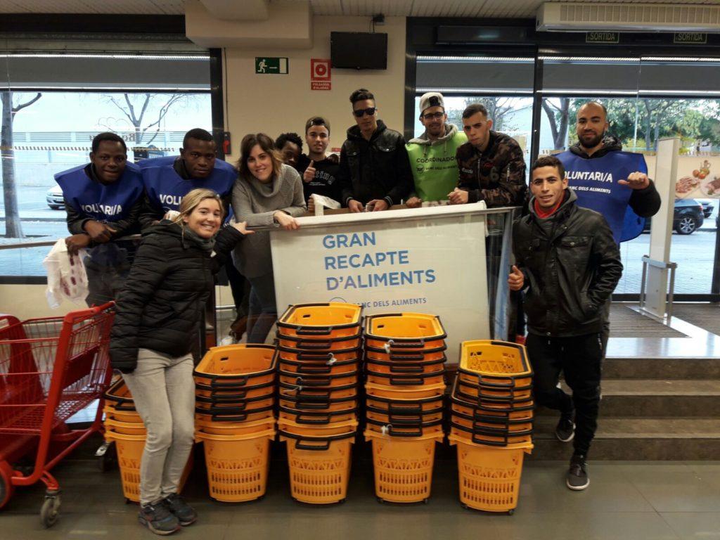 Gran Recapte, solidaritat, aliments, Iniciatives Solidàries